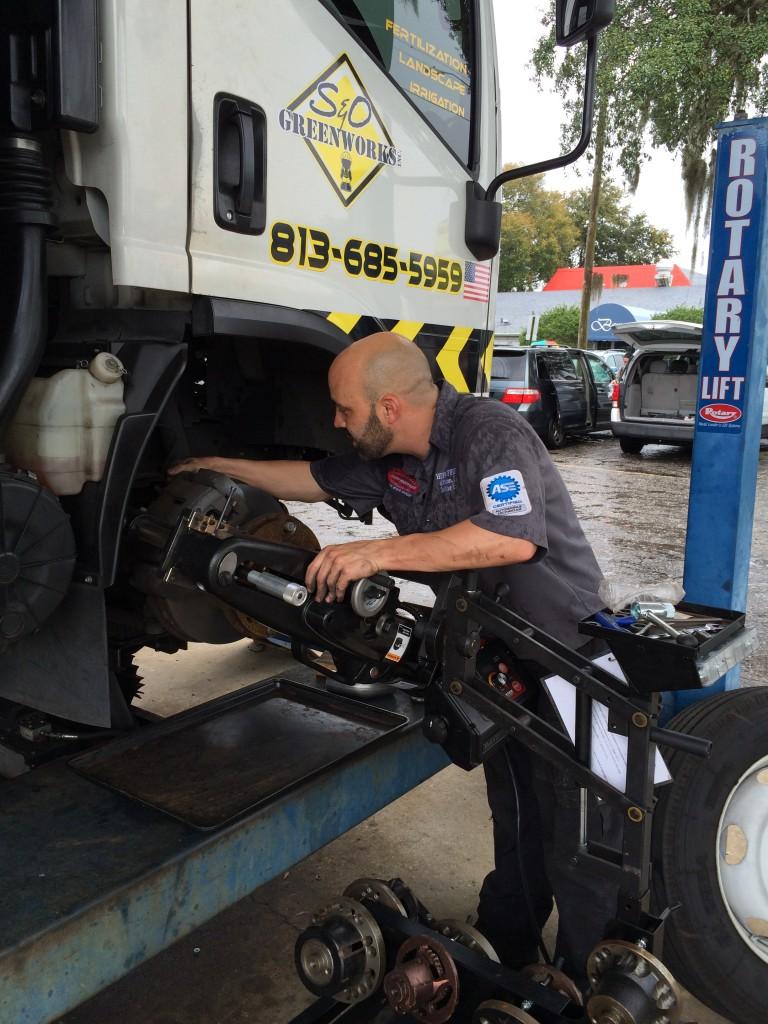Huff Automotive Repairman Brandon